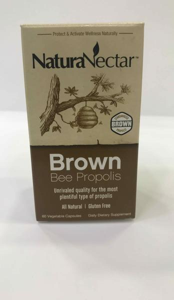 BROWN BEE PROPOLIS DAILY VEGETABLE DIETARY SUPPLEMENT CAPSULES