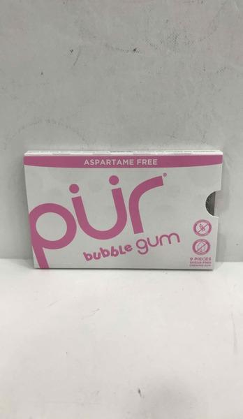 SUGAR-FREE BUBBLE CHEWING GUM