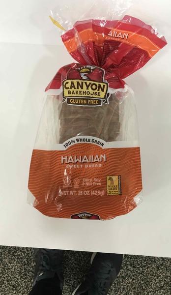 HAWAIIAN 100% WHOLE GRAIN SWEET BREAD
