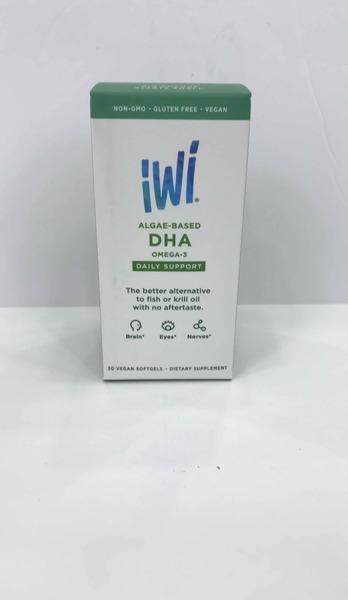 ALGAE-BASED DHA OMEGA-3 DAILY SUPPORT DIETARY SUPPLEMENT VEGAN SOFTGELS