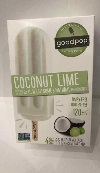 COCONUT LIME FROZEN POPS