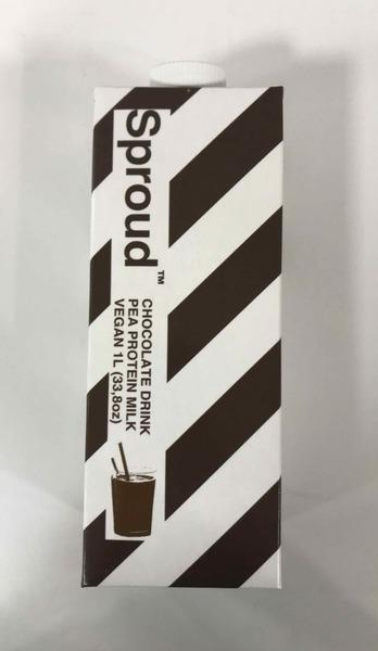 CHOCOLATE DRINK PEA PROTEIN MILK
