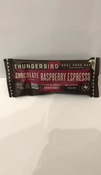 CHOCOLATE RASPBERRY ESPRESSO REAL FOOD BAR