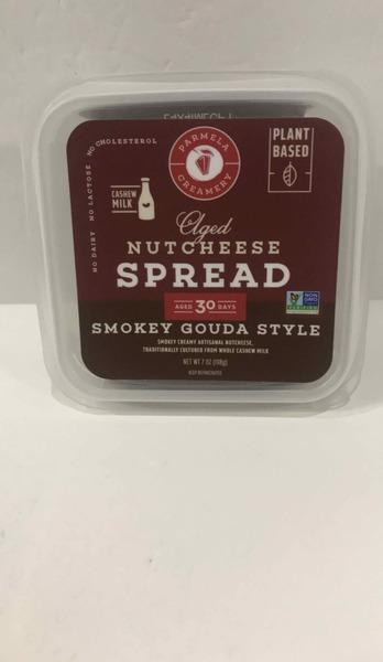 SMOKEY GOUDA STYLE AGED NUT CHEESE SPREAD