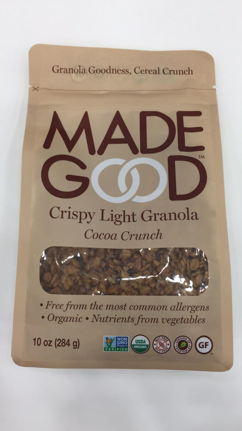 Cocoa Crunch Crispy Light Granola