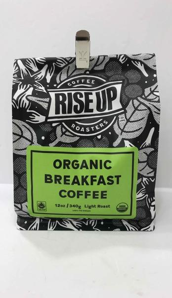 LIGHT ROAST ORGANIC BREAKFAST COFFEE
