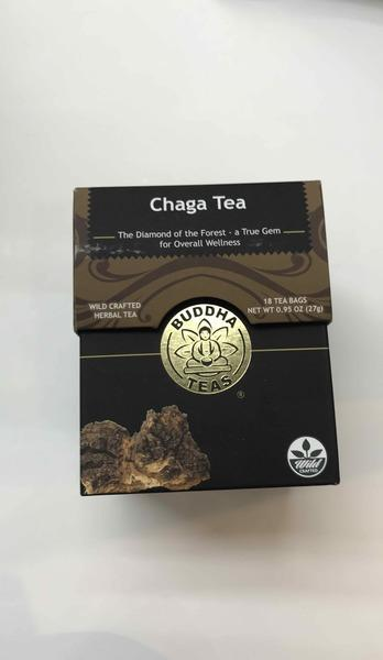 CHAGA WILD CRAFTED HERBAL TEA BAGS