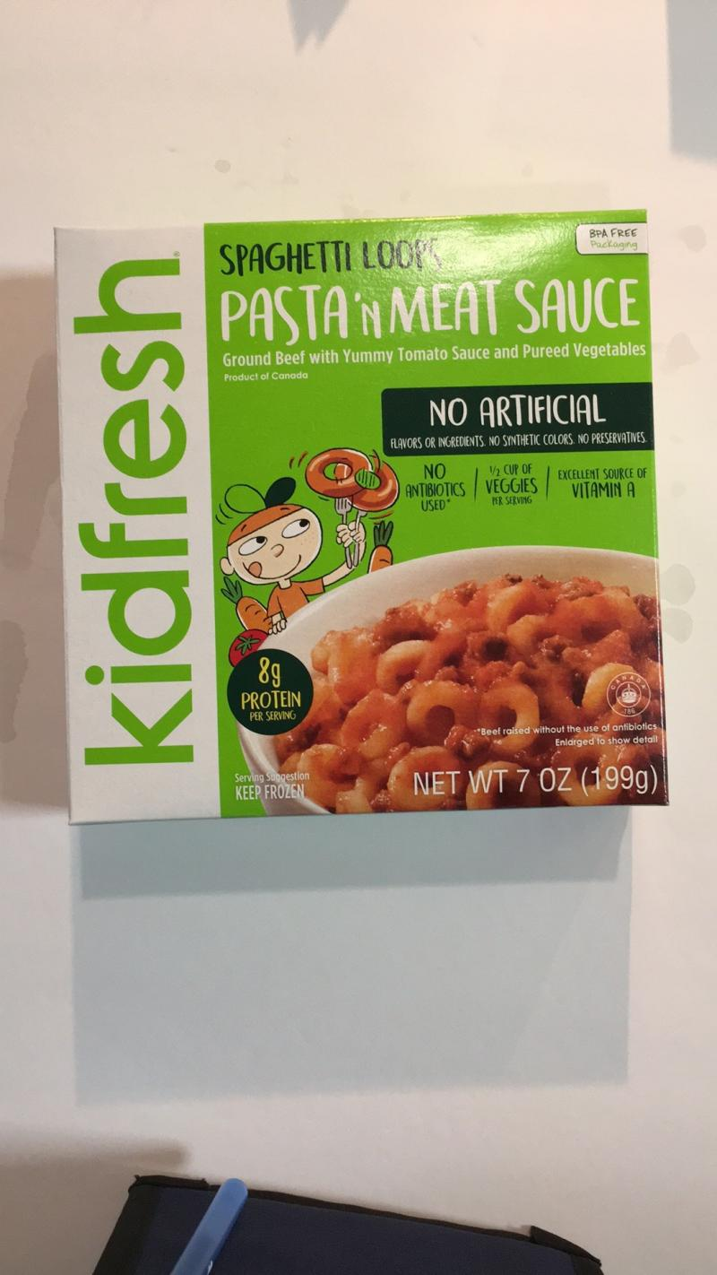 Pasta'n Meat Sauce