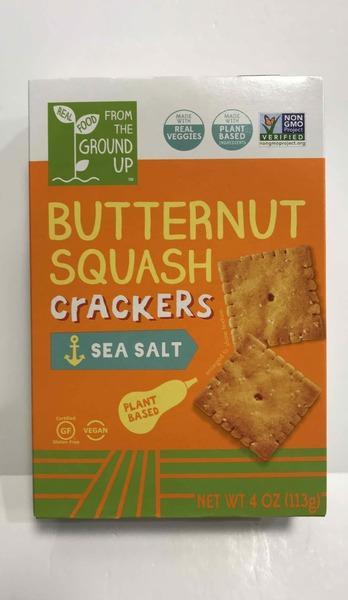 SEA SALT BUTTERNUT SQUASH CRACKERS