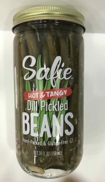 HOT & TANGY DILL PICKLED BEANS