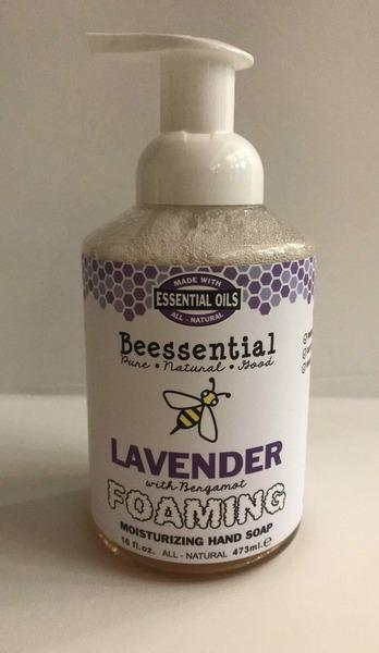 FOAMING WITH BERGAMOT MOISTURIZING HAND SOAP, LAVENDER