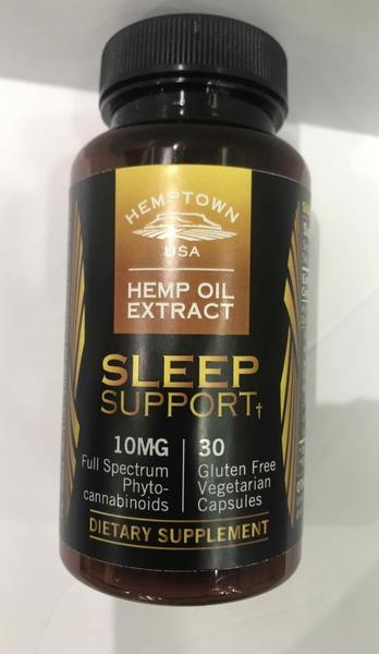 SLEEP SUPPORT 10MG FULL SPECTRUM PHYTO-CANNABINOIDS HEMP OIL EXTRACT DIETARY SUPPLEMENT