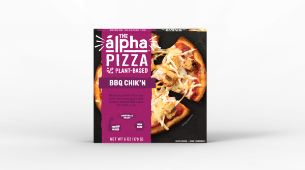 BBQ CHIK'N PLANT-BASED PIZZA
