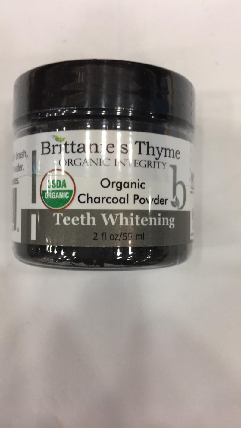 Organic Teeth Whitening Charcoal Powder