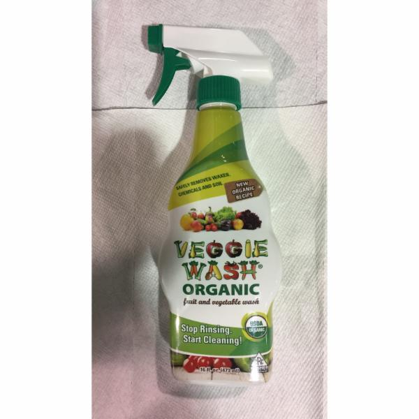 ORGANIC FRUIT AND VEGETABLE WASH