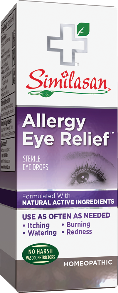 ALLERGY RELIEF HOMEOPATHIC STERILE EYE DROPS | The Natural