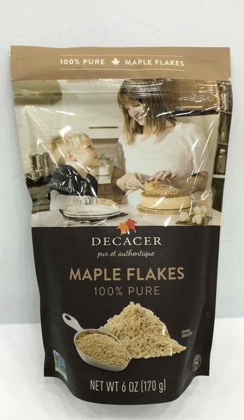 100%  PURE MAPLE FLAKES