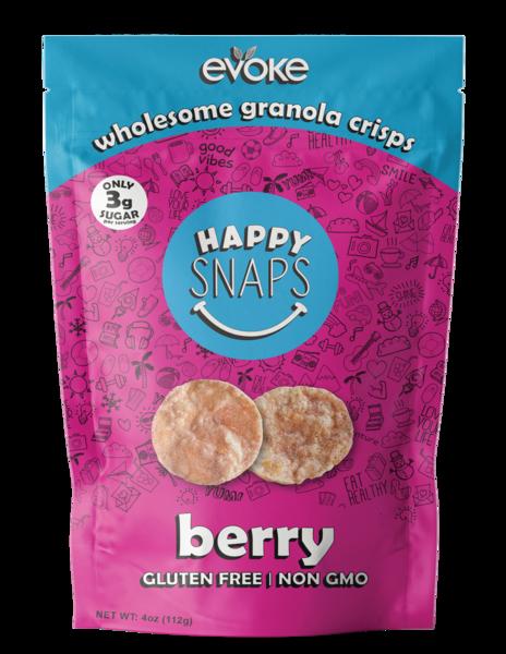 BERRY WHOLESOME GRANOLA CRISPS