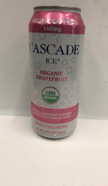 ORGANIC NATURAL GRAPEFRUIT FLAVORED CAFFEINATED SPARKLING WATER