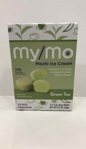 GREEN TEA FLAVORED MOCHI PREMIUM ICE CREAM