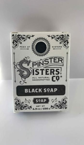 ALL NATURAL HANDCRAFTED BLACK SOAP