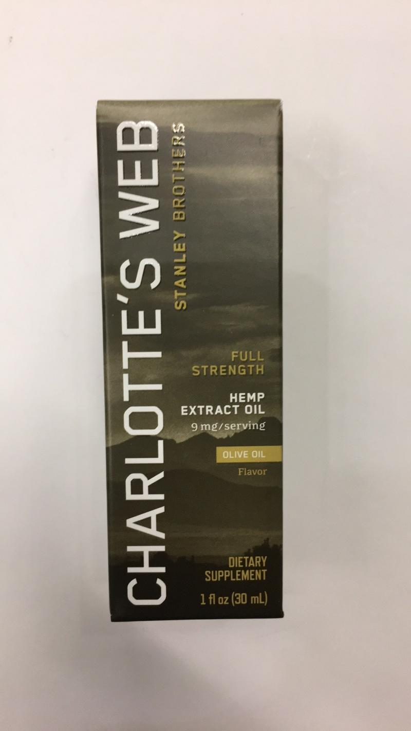 Hemp Extract Olive Oil