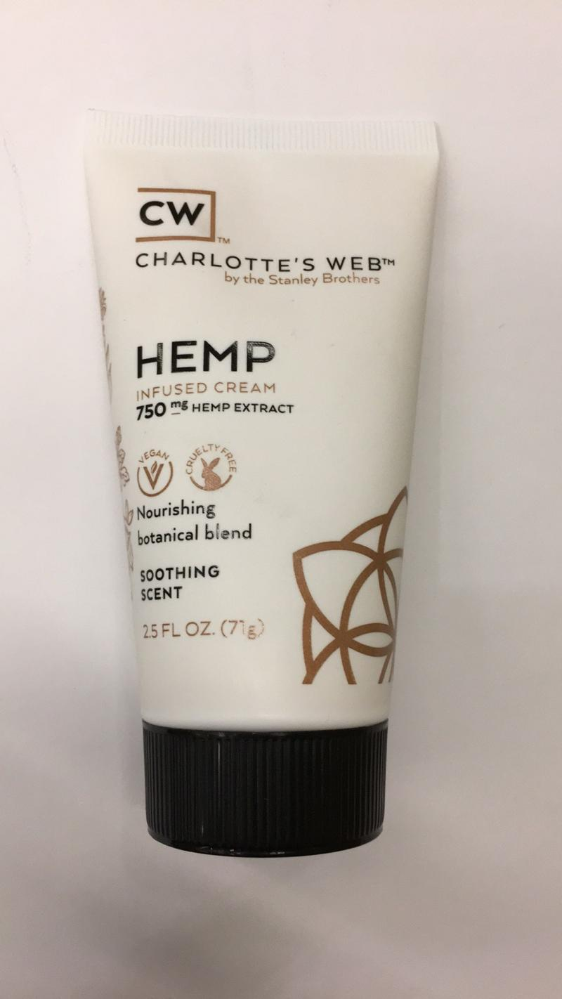 Soothing Scent Hemp Infused Cream