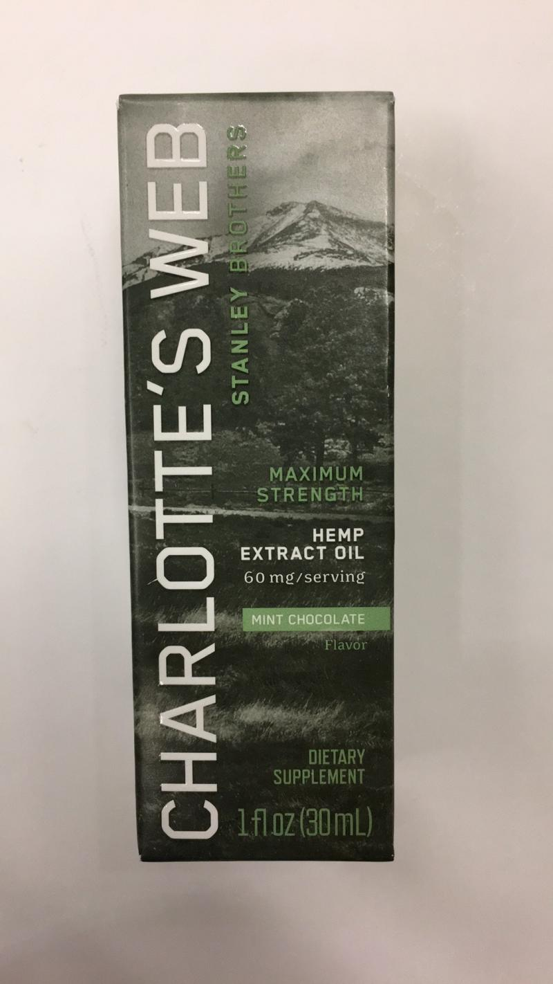 Maximum Strength Hemp Extract Oil Dietary Supplement