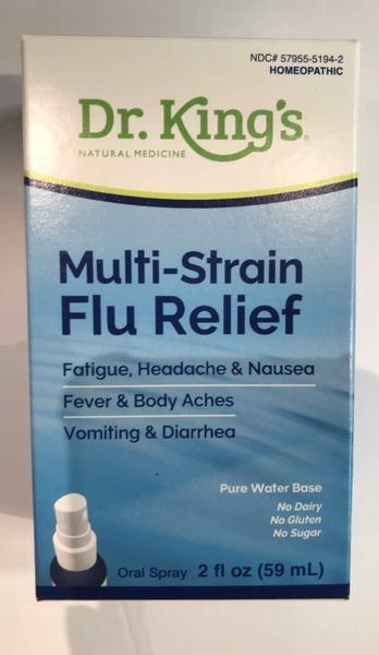 MULTI-STRAIN FLU RELIEF ORAL SPRAY
