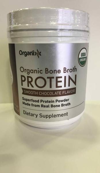 ORGANIC BONE BROTH PROTEIN SUPERFOOD PROTEIN POWDER, SMOOTH CHOCOLATE