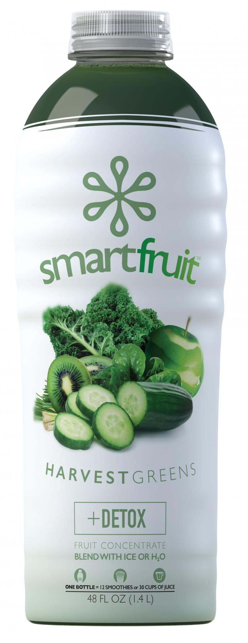 Harvest Greens +detox Fruit Concentrate Blend With Ice Or H2o
