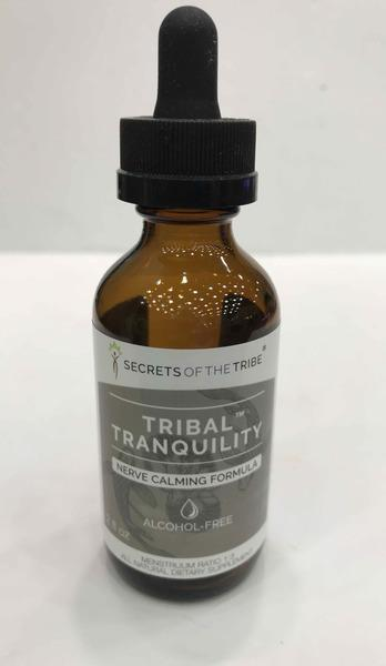 TRIBAL TRANQUILITY NERVE CALMING FORMULA ALL NATURAL DIETARY SUPPLEMENT