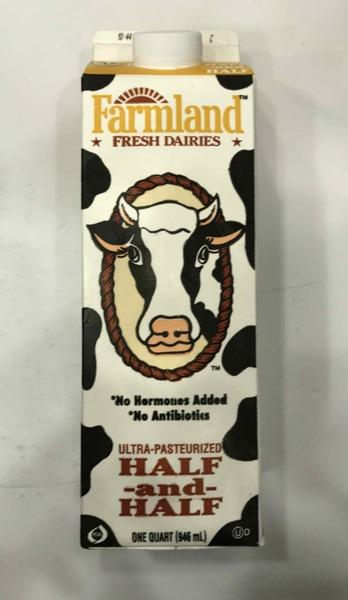 ULTRA-PASTEURIZED HALF AND HALF