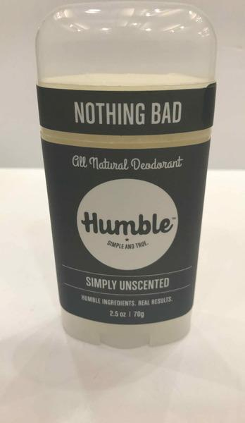 ALL NATURAL DEODORANT, SIMPLY UNSCENTED