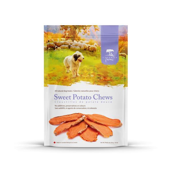 SWEET POTATO CHEWS ALL NATURAL DOG TREATS