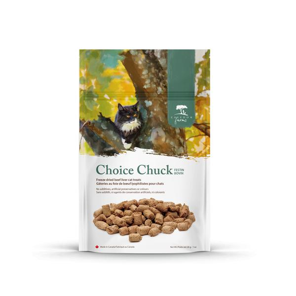 CHOICE CHUCK FREEZE DRIED BEEF LIVER CAT TREATS