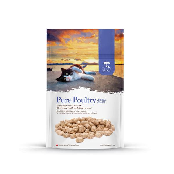 PURE POULTRY FREEZE DRIED CHICKEN CAT TREATS