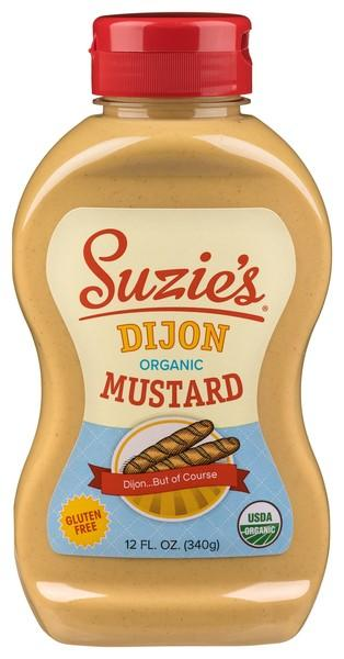 DIJON...BUT OF COURSE ORGANIC DIJON MUSTARD