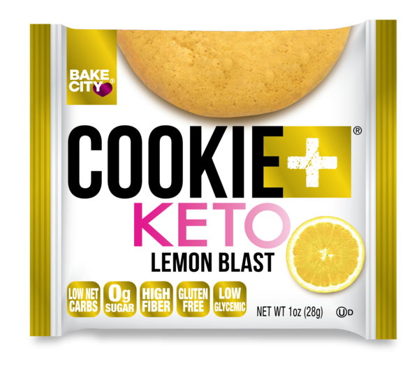LEMON BLAST COOKIE + KETO