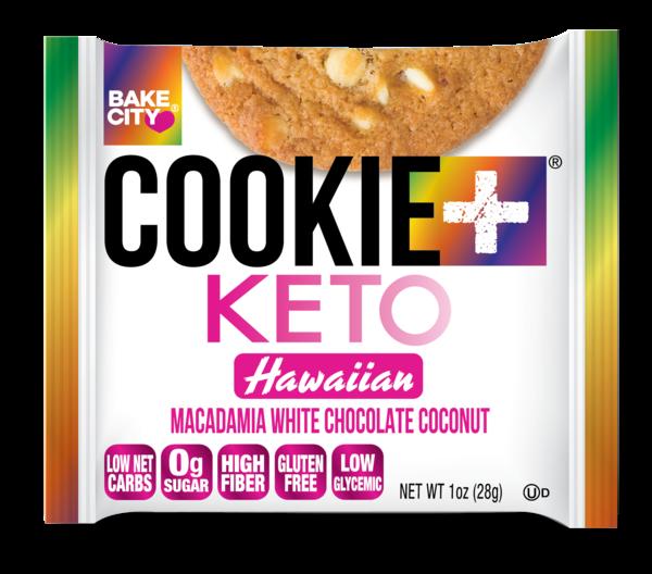 HAWAIIAN MACADAMIA WHITE CHOCOLATE COCONUT KETO COOKIE