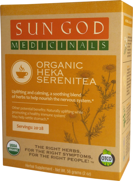 ORGANIC HEKA SERENITEA HERBAL SUPPLEMENT