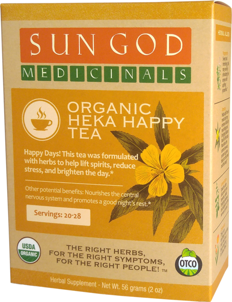 ORGANIC HEKA HAPPY TEA HERBAL SUPPLEMENT