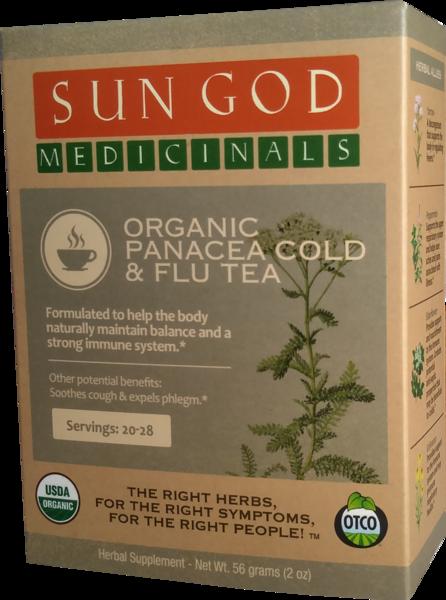 ORGANIC PANACEA COLD & FLU TEA