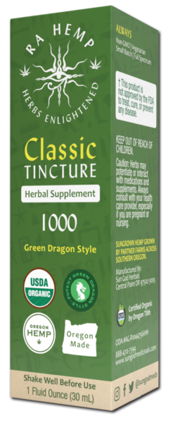 GREEN DRAGON STYLE 1000 CLASSIC TINCTURE HERBAL SUPPLEMENT