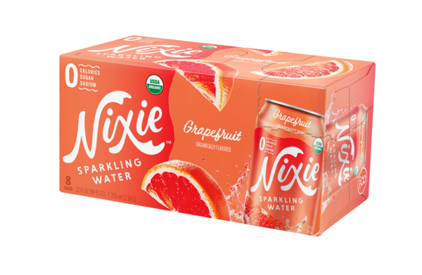 GRAPEFRUIT ORGANICALLY FLAVORED SPARKLING WATER