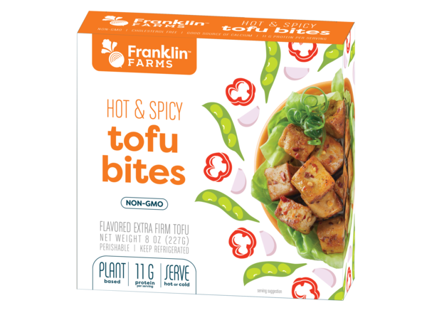 HOT & SPICY FLAVORED EXTRA FIRM TOFU BITES