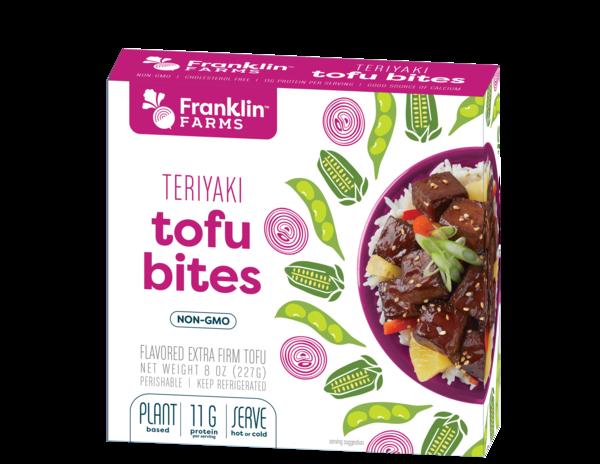 TERIYAKI FLAVORED EXTRA FIRM TOFU BITES