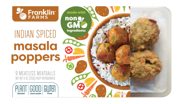 INDIAN SPICED MASALA POPPERS MEATLESS MEATBALLS