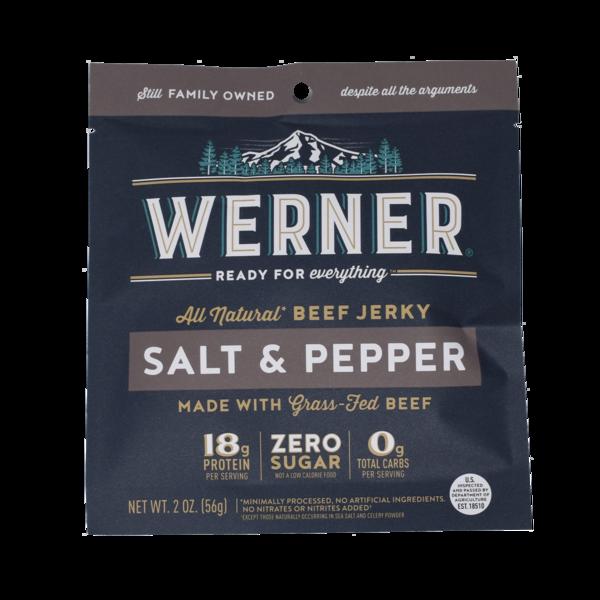 SALT & PEPPER BEEF JERKY