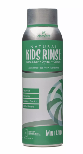 NATURAL KIDS RINSE MINT CANDY